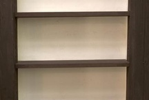 Shelves in the wall