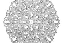 SU! Darling Doily / Inspirations gathered for use with SU! Darling Doily die.