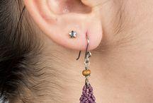 macrame earrings / by Liz