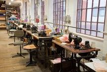 Coffin Works Sewing room