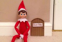elf on the shelf :: Mason Snowflake at our house / Adventures of our very own elf, Mason Snowflake, who first visited us on 1 December 2014