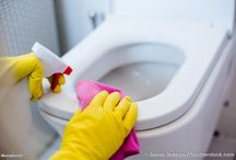 Pulizia e profumazione bagno con prodotti naturali