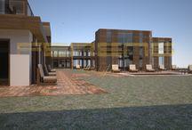 FERENS DESIGN / WARSZAWA / dom starości / architekt FERENS design joanna ferens - hofman warszawa wizualizacje