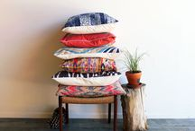 cushions and loads of them / by Lakshmi Arvind