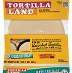 Flour Tortillas / Made from Five Simple Ingredients.  Naturally delicious with no preservatives, TortillaLand® flour tortillas are sold only in the refrigerated section – for freshness you can taste.