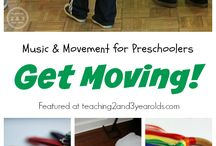 Musiek en beweging