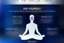 6 chackra ANJA - terceiro olho / third eye chakra