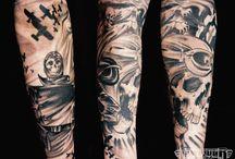 L'art du Tatouage / La tatouage est un art que j'admire beaucoup !