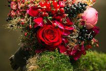 Brautstrauß/ Bouquets/   herbst/