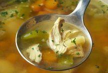 kippen soep