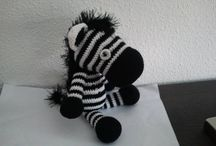 Made by miranda w / All my crocheted and sewing things, animals.......