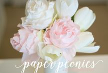 Crepe paper projects