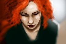 MY WORK - Fantine & Ingrid / Inspiration pour les romans et nouvelles sur Fantine et Ingrid