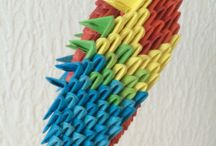 Origami 3D / Créer avec du papier