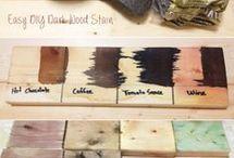 Envelhecimento de madeira