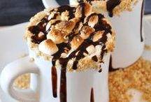 Postres calientes de chocolate