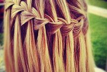 trensas y pelo