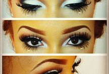 Bride Eyes & Makeup / A makeup inspiration board for beautiful brides like YOU.