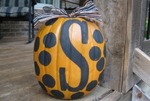 Halloween Ideas / Get thinking early for what you will be and what you want to give for Halloween!