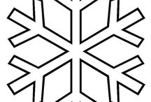 Hópehely papírból