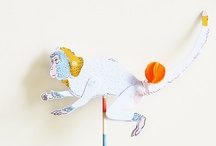 {paper puppet} / gorgeous little shadow puppets