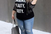 Plus Size / Fashion ideas for ladies with the curves, like myself.  Gotta get out of this frump rut!
