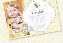 Bee Day Party / Bee themed party printables and decor.