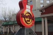 Hard Rock Cafe visits / by Ali Crain