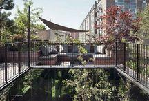 roof garden\deck