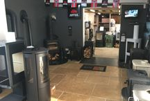 Our Colney Heath showrooms / We are constantly updating our display stoves...
