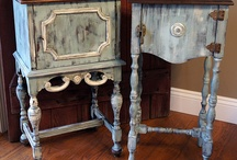 Annie Slone painted furniture
