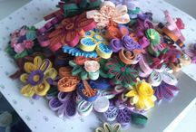 FLOWERS / QUILLING