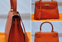 Hermes / Hermes Bags Real Croco, Real Python, Real Leather