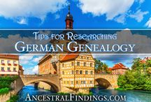 German Genealogy / Did you know that Germany wasn't always Germany? Pins for everyone tracking down their German ancestors