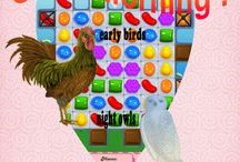 Candy Crush Humor / Good Morning Early Birds and Night Owls :) / by Arizona seasons