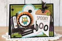 Halloween Cards and More... / Halloween cards and other Halloween crafts