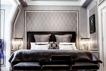 Art Deco Living Spaces / Rooms and fixtures that make you want to travel back in time to drink black and tans and wear fringe-y dresses. / by Louie Lighting Inc.