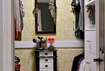 Closet Solutions / Ideas and DIYs for all size closets.