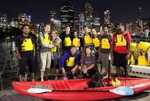 Paddle and BBQ / Discover Brisbane from a different perspective and take an easy night kayak up the river followed by a traditional Aussie BBQ and drinks on the banks of the Brisbane River.