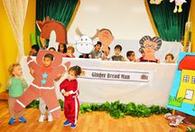 The Gingerbread Man-Puppet Show