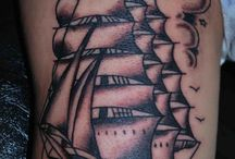 ship and pirate tattoos