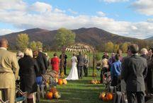 ::Wedding ceremony decoration::