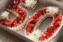 gâteau anniversaire en chiffres