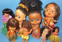 Hawaiian dolls