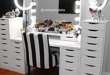 Makeup room