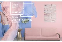 Pantone Colours 2016 / Inspiration using the 2016 Pantone colours