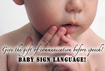 Baby Sign Language / Baby sign language free printables. ASL flashcards, ASL dictionary, ASL resources to help teach your baby sign language