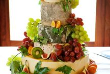 Wedding cheese cakes