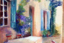 Malování pastelem