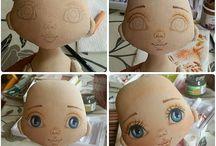 bonecas papel - vistas no pinterest